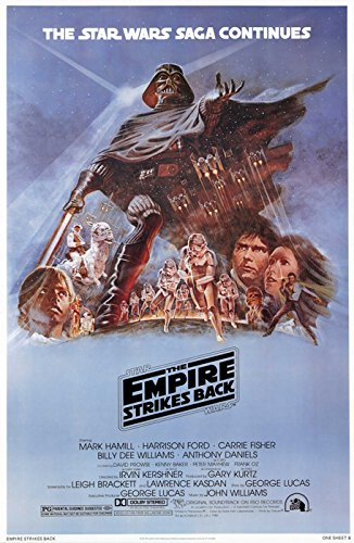 Star Wars: Episode V - The Empire Strikes Back - Movie Poster: Style 'B' (Size: 27'' x 40'') (By POSTER STOP ONLINE) (Empire Strikes Poster Back The)