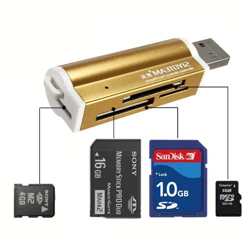 mway-portable-usb20-multi-micro-sd-m2-tf-mmc-sdhc-ms-memory-card-reader-golden