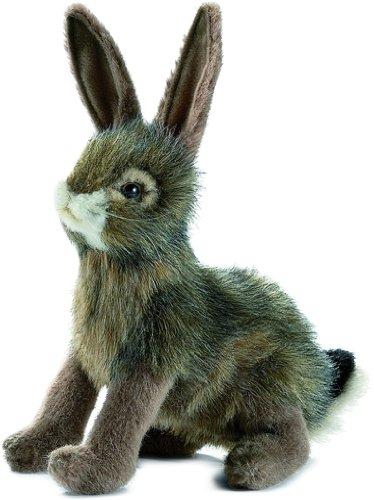 """HANSA Bunny Rabbit Plush Animal Toy, 9"""""""