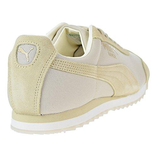 Puma Heren Roma Zomer Sneaker Kiezel-whisper White