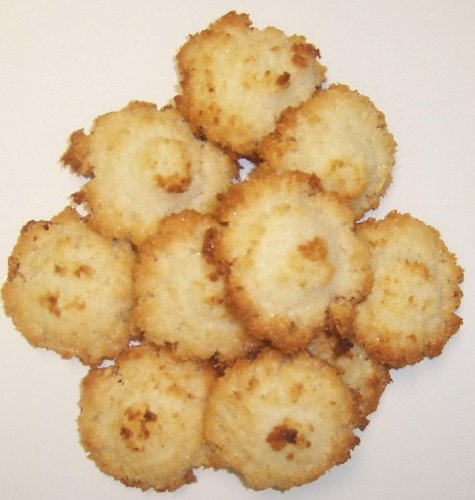 Scott's Cakes Coconut Macaroon Cookies in a 1 Pound White Box