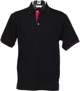 6e7b1d1014a053 Kustom Kit Mens St Mellion Polo Short Sleeve Workwear Casual Outdoor Shirt  Top