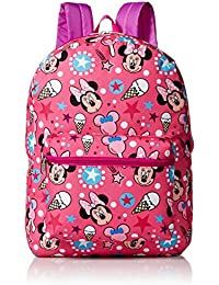 Girls' Minnie Mouse All Over Print Backpack, Multi