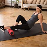 321 STRONG Foam Roller - Medium Density Deep Tissue Massager for Muscle Massage and Myofascial Trigger Point Release, with 4K eBook - Red