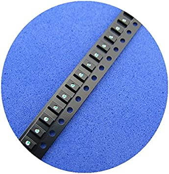 100 Pcs 1206 Blue Super Bright SMD SMT LED New