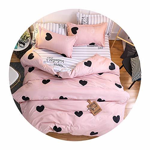 Home Textile Cartoon Polar Bear Bedding Sets Children's Beddingset Bed Linen Duvet Cover Bed Sheet Pillowcase/Bed Sets,024,Full