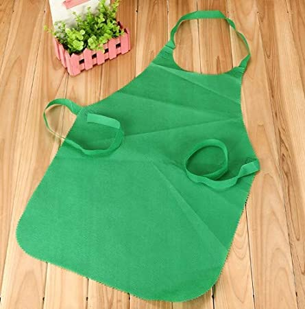 Kitchen 20-Pack Home Events-for Children Above 7 /& Crafts 20 Medium Size Colorful Disposable Artist Aprons for Art Parties School Garden