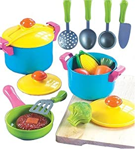 Small World Living Toys Young Chef Cookware Set from Small World Toys