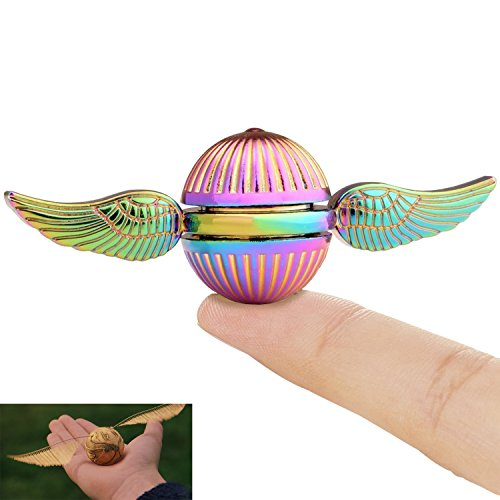 Wiitin Harry Potter Fidget Hand Spinner Toy Made by Metal, the Snitch Used in Quidditch, Mixed Color