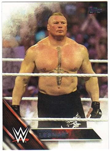 2016 Topps WWE Then Forever #109 Brock Lesnar Official Wrestling Trading Card Now