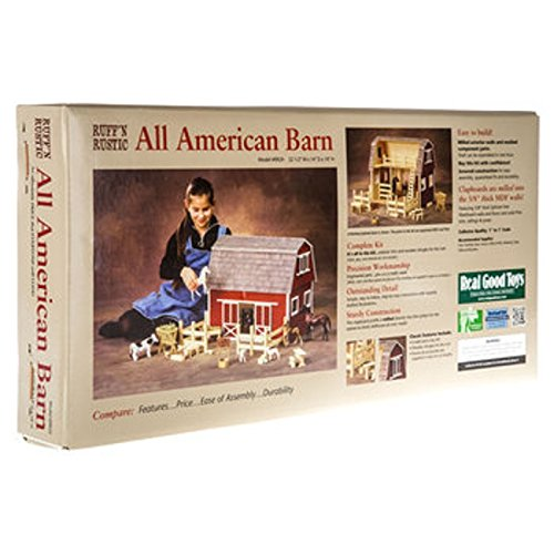 Real Good Toys Barn, Stores and Mouse House Ruff 'n Rustic All American Barn Dollhouse]()