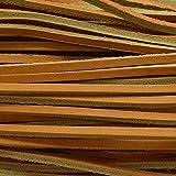 Cow 100 Lace Strap Bundle Strip 5-6 oz String 1/8'' x 48'' Marigold