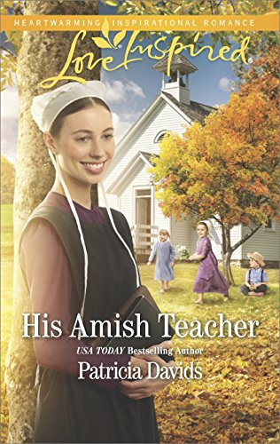 book cover of His Amish Teacher