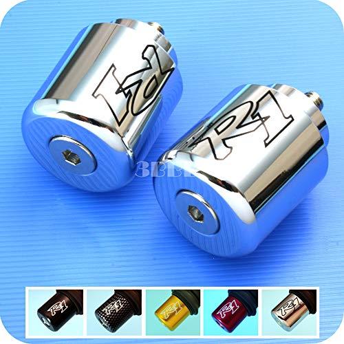 - YAMAHA R1 Chrome BAR ENDS 1998-2001 2002 2003 2004 2005 2006 2007 2008 2009 2010