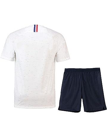 7c252fb1f440a Brofans Garçon Ensemble de T-Shirt et Short Coupe du Monde France 2 étoiles  Football.  3