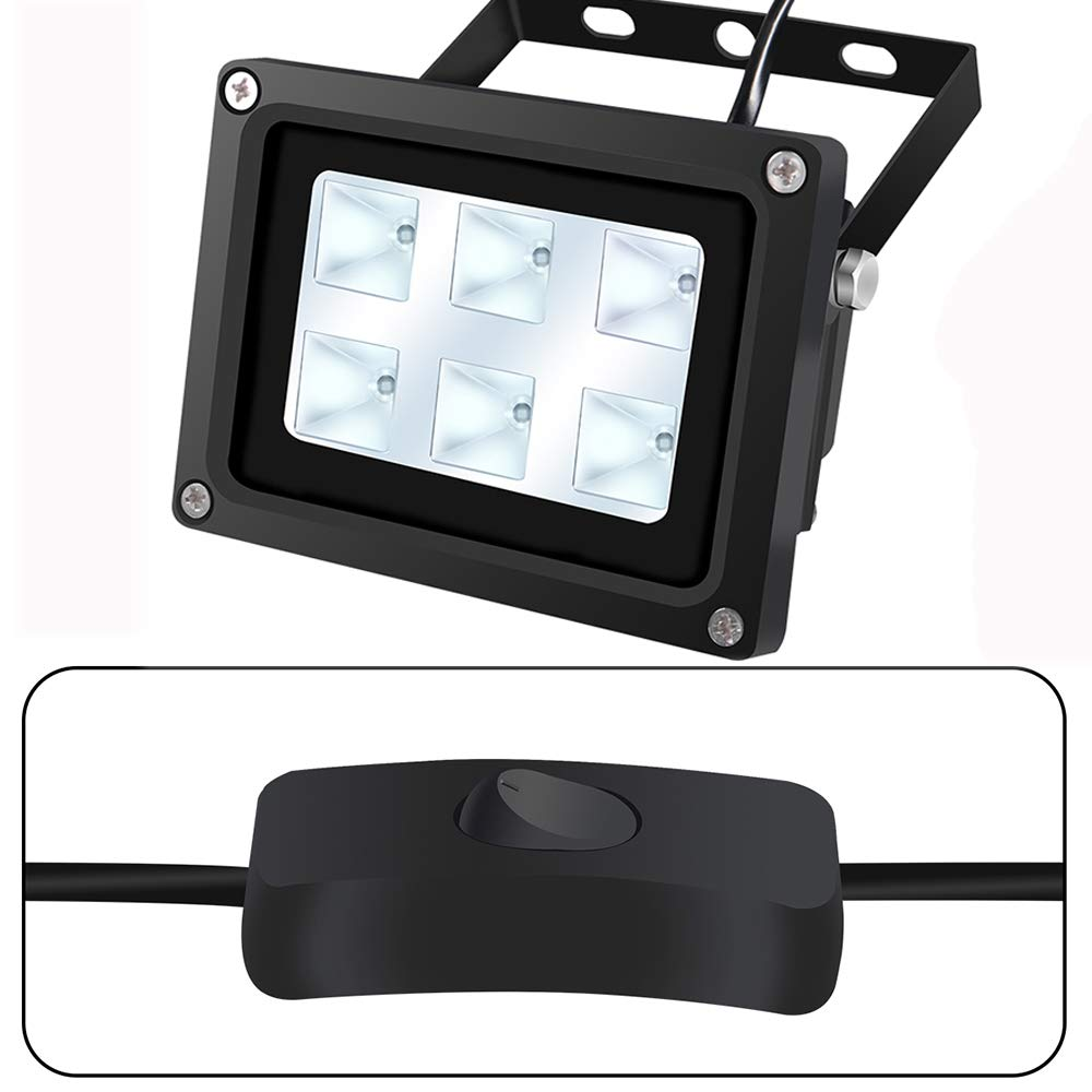 DIY Curing Enclosue 3D Printer UV LED Resin Curing Light Lamp for SLA//DLP 3D Printer Solidify Photosensitive Resin 405nm UV Resin Dryer Affect 60w Output
