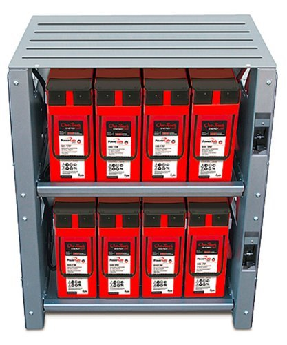 OUTBACK POWER 2 SHELF INTEGRATED BATTERY RACK FOR 48V SYSTEMS by Outback