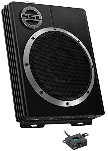 Sound Storm LOPRO8 Amplified Car Subwoofer - 600 Watts Max Power, Low...