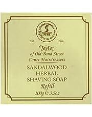 TAYLOR OF OLD BOND STREET Vaste scheerzeep sandelhout navulling, 100 g