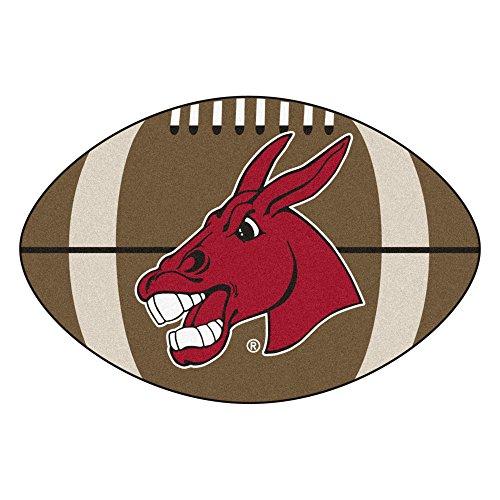 (FANMATS NCAA University of Central Missouri Mules Nylon Face Football Rug)