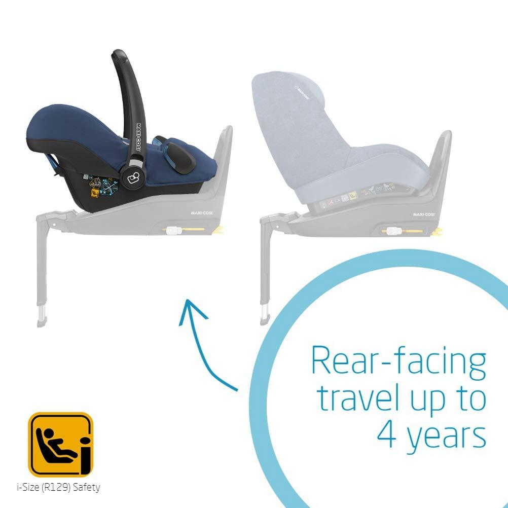 Nomad Sand Rearward-Facing i-Size Car Seat ISOFIX 0-13 kg 0-12 m Maxi-Cosi Rock Baby Car Seat Group 0+