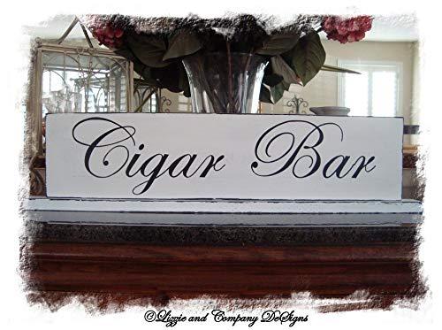 Enid18Bru Cigar Bar - Placa Decorativa para árbol de Navidad ...