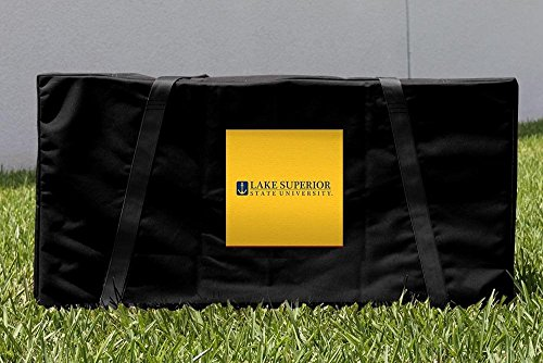 Victory Tailgate Lake Superior State LSSU Lakers Cornhole Carrying Case by Victory Tailgate