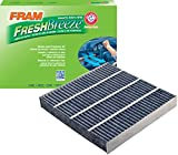 fram cabin air filters - FRAM CF11182 Fresh Breeze Cabin Air Filter with Arm & Hammer