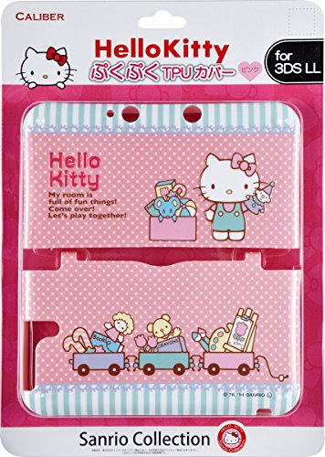 Sanrio Collection Hello Kitty Protective cover [TPU] for 3DS LL (Japan Import)