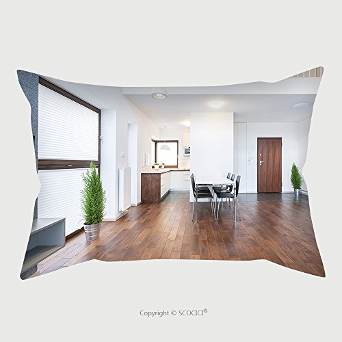 Custom Microfiber Pillowcase Protector Spacious Interior Of Dinning Room In Modern House 281155619 Pillow Case Covers Decorative price