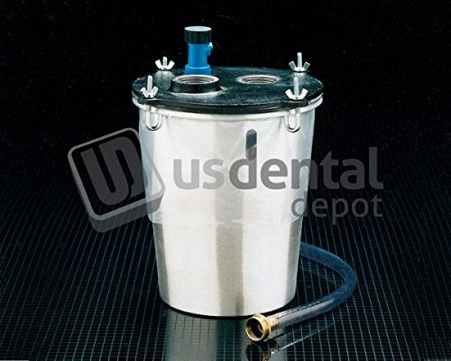 KEYSTONE - THE TRAP - Aluminum Plaster Trap W/Viewing Window & hoses ( 034-7000360 Us Dental Depot