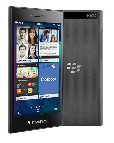 BlackBerry Leap 16GB Factory Unlocked GSM 4G LTE Smartphone - Shadow Grey by BlackBerry (Image #7)