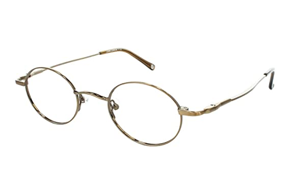 john lennon jl214 mens eyeglass frames copper antique