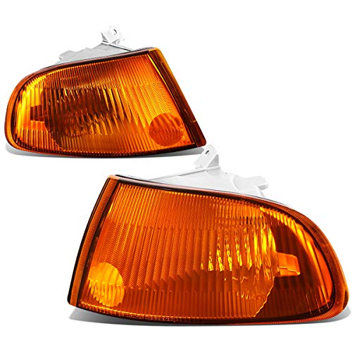 Honda Civic 4 Door Corner - For Honda Civic 4-Door EG8 EG9 EH9 Pair of Corner Light Lamp - Amber Housing