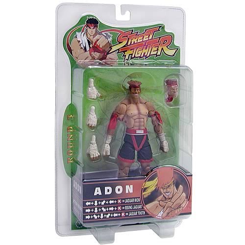 [Street Fighter Round 3 Adon Black and Red Outfit Variant Action Figure] (M Bison Costume)