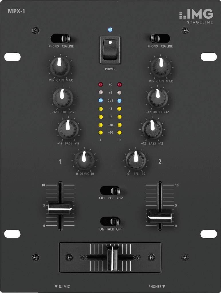 MEZCLADOR IMG STAGE LINE MPX-1/BK 202170