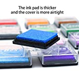 WeLiu Craft Ink Pad Stamps,Washable 20 Colors