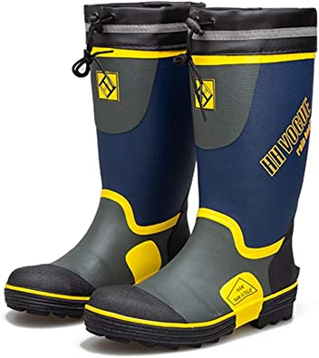 ForestBird Men's Steel Toe Safety Boots