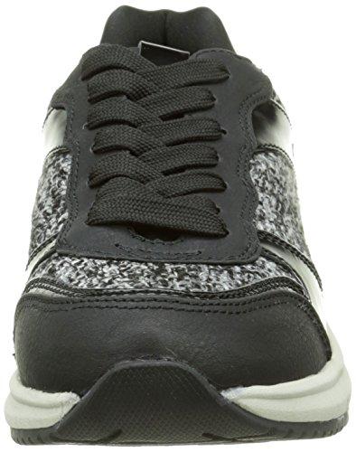 Tailor Basses 8596402 black Tom Sneakers Femme Noir q80wd