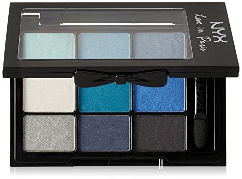 NYX Professional Makeup Love in Paris Eyeshadow Palette, Lov