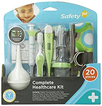 Amazon.com : Safety 1st Complete Healthcare Kit, Dupont Circle Color: Dupont Circle Model: IH260 : Baby