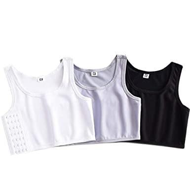Chest Binder FTM Tomboy Breasts Binder for Large Breasts Women Cospaly Corset Tank Top Breathable Elastic Band Clothes,Binding Minimizer Vest
