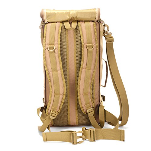 GOUQIN Outdoor Rucksack Klassische Mode Vier-In-One Multifunktionsdrucker Outdoor Backpackers Klettern Taschen Große Twin Schulter Taschen Outdoor/Über Paket 50 Cm * 30 Cm * 20 Cm
