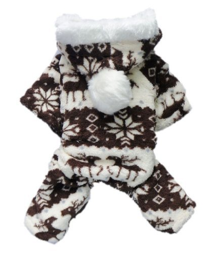 FuzzyGreen Brown Sweet Pets Dog Puppy Doggie Winter