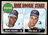1968 Topps # 96 Senators Rookies Frank Coggins