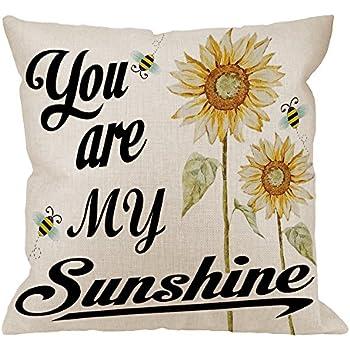 Amazon Com Hgod Designs You Are My Sunshine Pillow Case