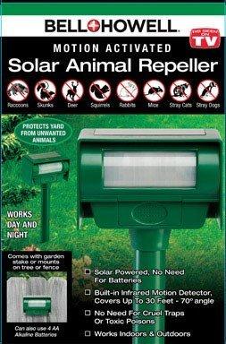 SOLAR PEST REPELLER by BELL + HOWELL MfrPartNo 50104CL
