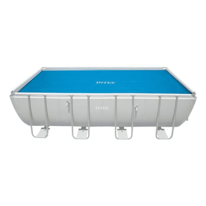 Intex 29030 - Cobertor solar para piscinas rectangulares de 975 x 488 cm: Amazon.es: Jardín