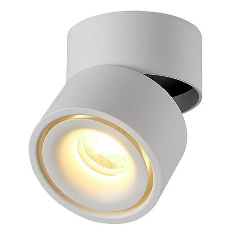 DR.Lazy - Foco LED para interiores (10 W, 360°, ajustable ...