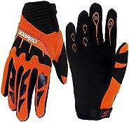 Gogokids Kids Cycling Gloves - Children Full Finger Sports Gloves for Skating, Road Bicycle, Mountain Bike, Sk